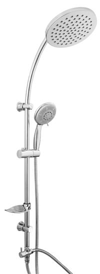 STREAM 624127 Olsen-Spa Sprchová tyč s příslušenstvím, skladem