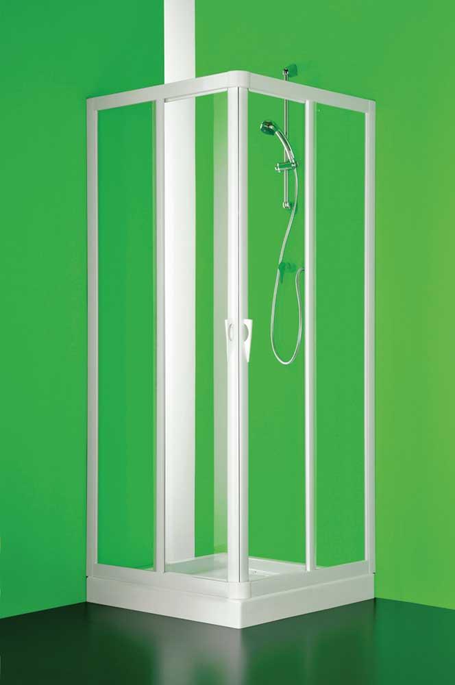 VELA 80 x 100 cm polystyrol Olsen-Spa sprchový kout , skladem