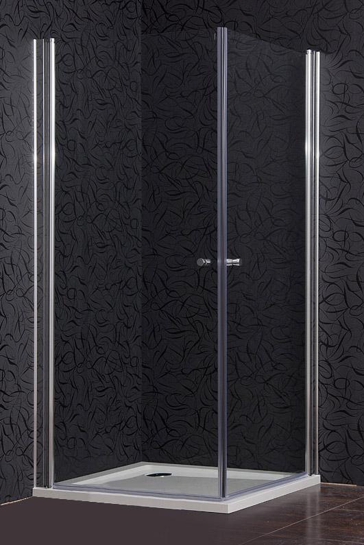 AIR 90 Clear NEW Arttec sprchový kout čtvercový s mramorovou vaničkou Zdarma, skladem