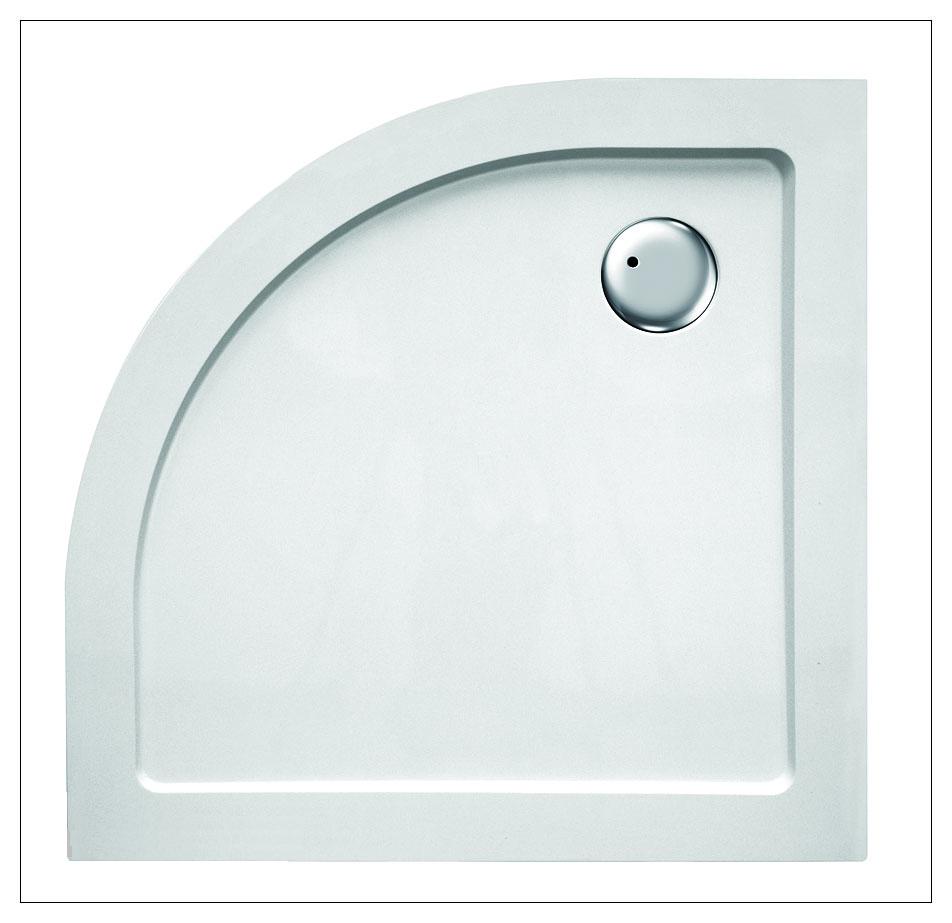 APRIL 9090R Arttec sprchová vanička čtvrtkruhová, skladem