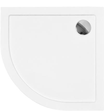 ARON 80x80 cm Olsen-Spa sprchová vanička čtvrtkruhová akrylátová, skladem