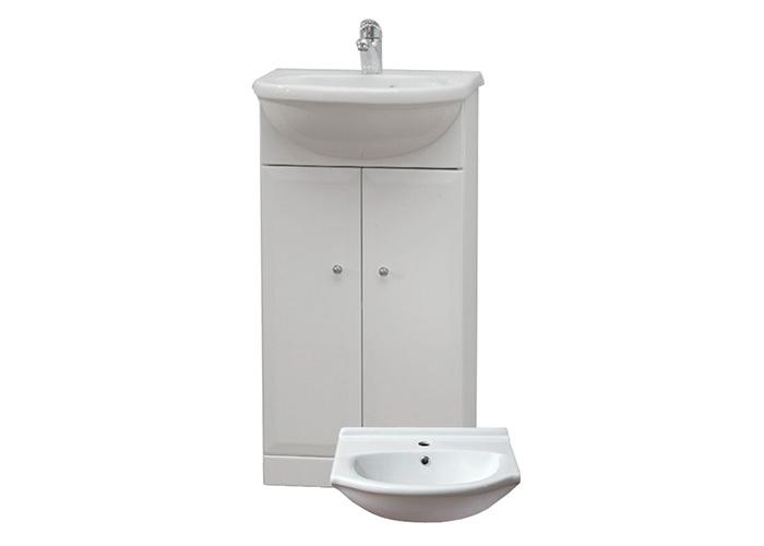 BEATA 40 Well Koupelnová skříňka s umyvadlem, sokl , skladem
