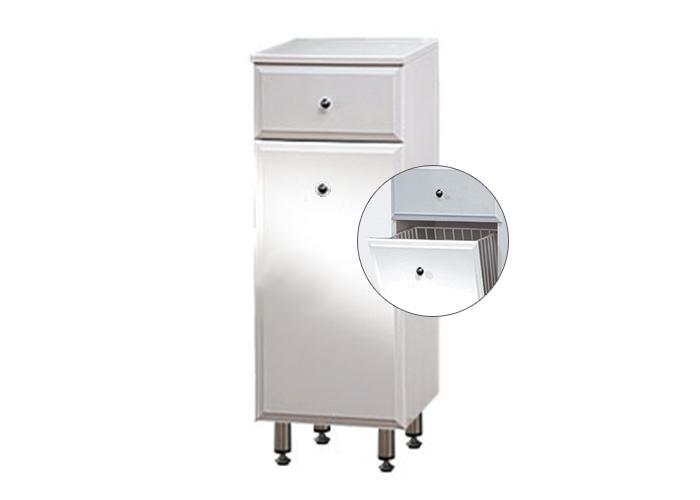BEATA NK 32 ZV Well Koupelnová skříňka spodní, závěsná s nožičkami, koš, skladem