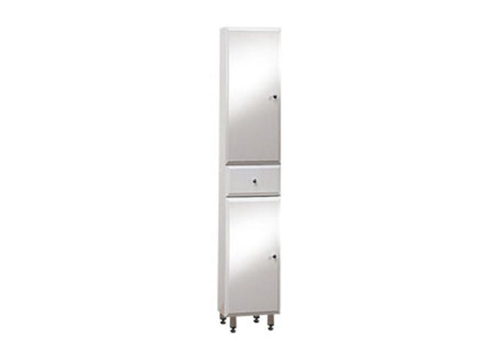 BEATA V 170 ZV L Well Koupelnová skříňka vysoká plná, závěsná s nožičkami, levá, skladem