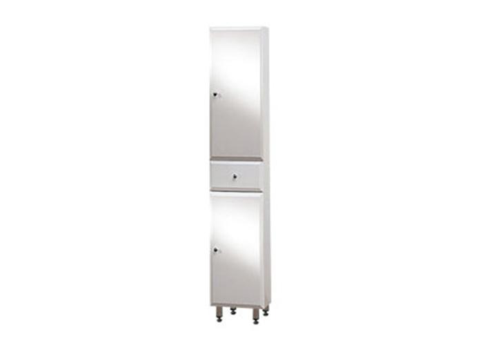 BEATA V 170 ZV P Well Koupelnová skříňka vysoká plná, závěsná s nožičkami, pravá, skladem