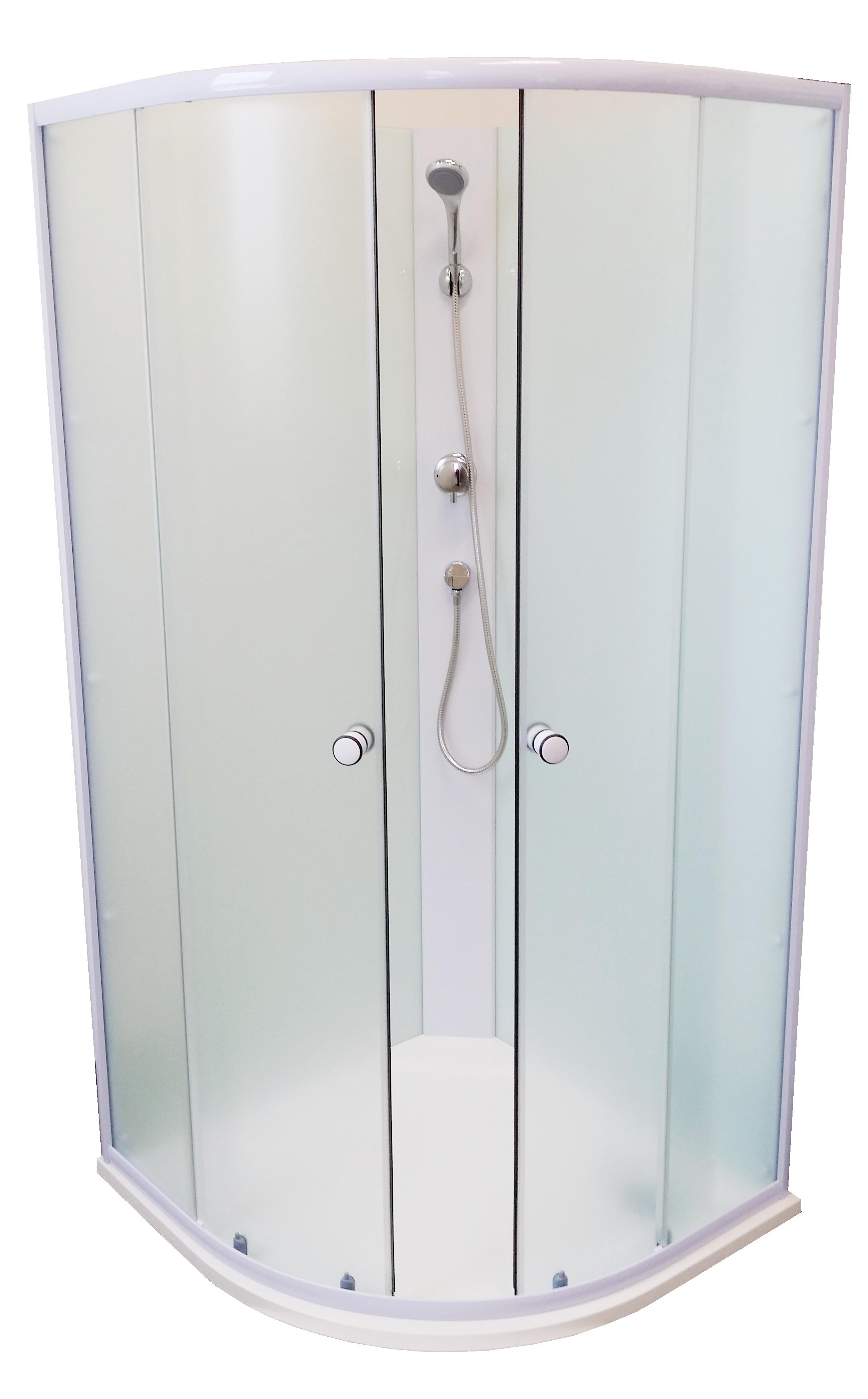 BIANCA 90 SOFIA Well Sprchový box s mramorovou vaničkou, skladem