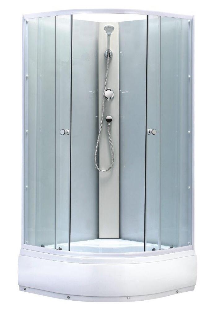 BIANCA 90 High Well Sprchový box s hlubokou vaničkou + sifon ZDARMA, skladem