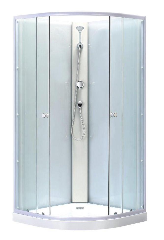 BIANCA 90 Low Well Sprchový box + vaničkový sifon ZDARMA, skladem