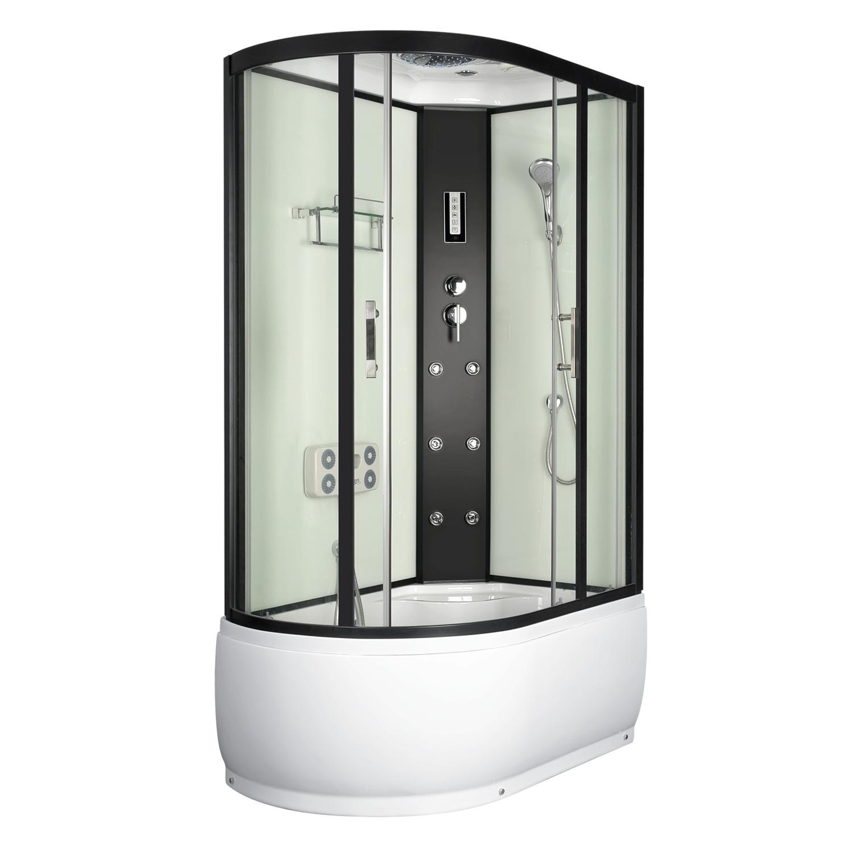 LORAIN 120x80 pravá Well sprchový masážní box + sifon ZDARMA, skladem