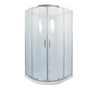 CATANIA 80 clear MRAMOR Well sprchový kout s mramorovou vaničkou, skladem