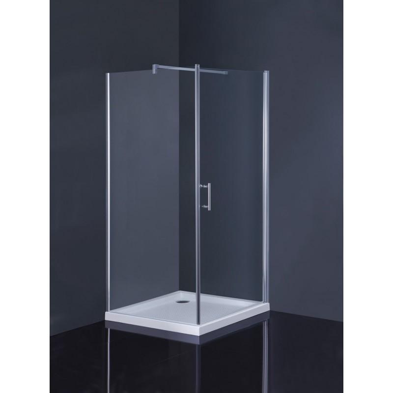 Čtvercový sprchový set Osuna+Burgas Olsen-Spa, s mramorovou vaničkou, skladem