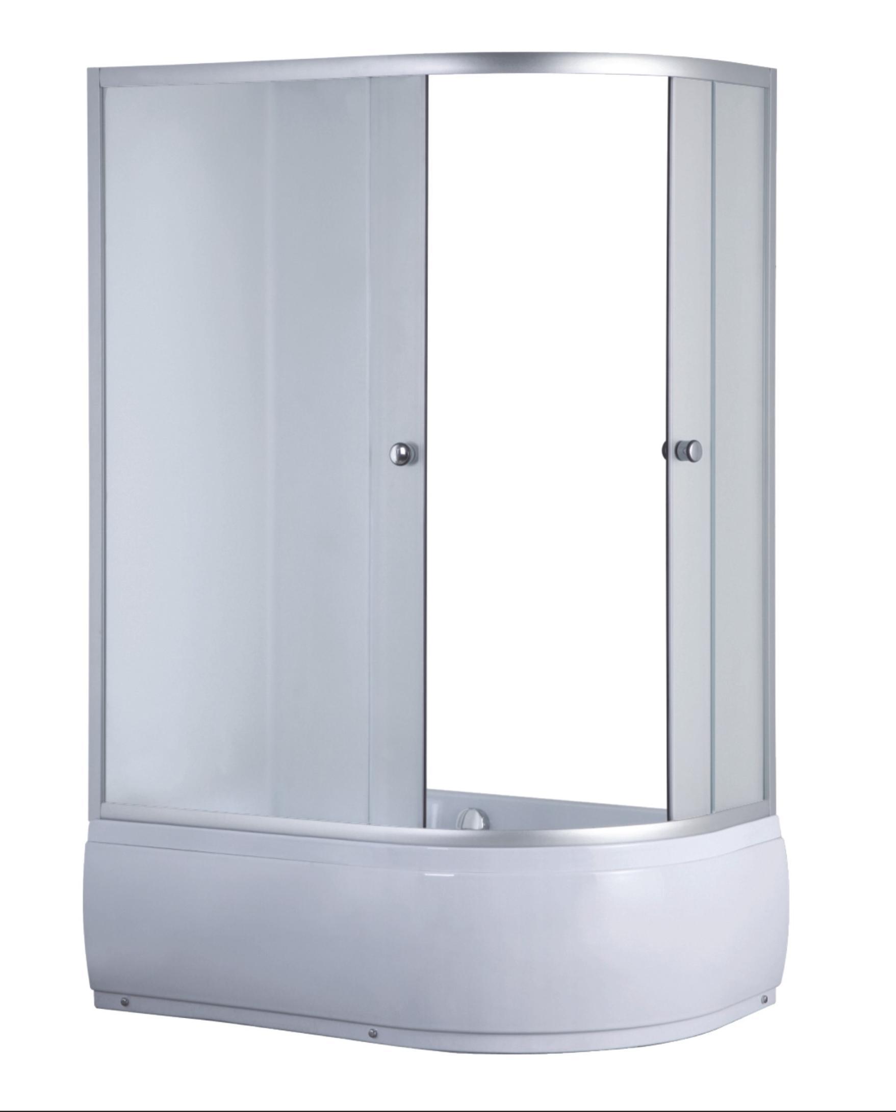 DURHAM 120 L Well sprchový kout s vysokou vaničkou, skladem, doprava zdarma