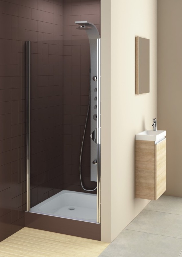 FRANCIS 80 Well Sprchové dveře do niky, levé, skladem