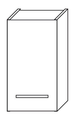 F-30-ZM Olsen-spa Skříňka horní, bílá, skladem