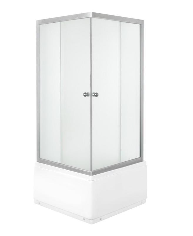 FRANK Q 4580 woven Well sprchový kout čtvercový s hlubokou vaničkou, skladem