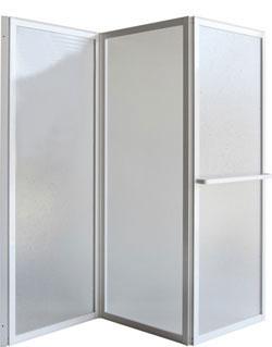 KARINA 139 × 135 cm Olsen-Spa vanová zástěna, skladem