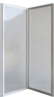 KARINA 94,5 × 135 cm Olsen-Spa vanová zástěna, skladem