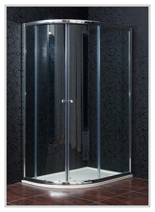 KLASIK 80x120 New clear pravá Arttec sprchový kout s vaničkou STONE, skladem