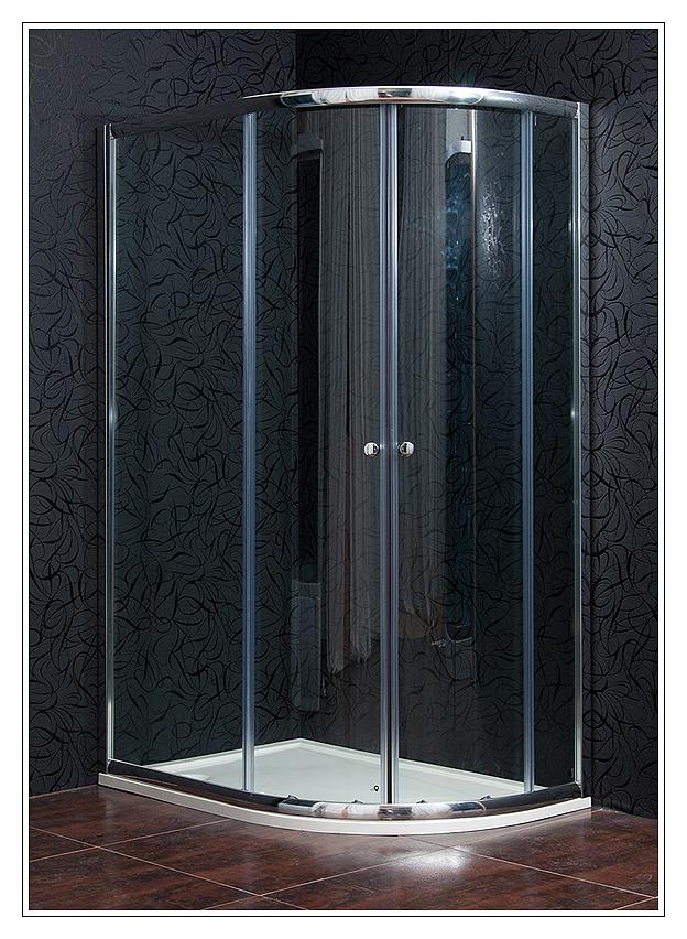 KLASIK 80x120 New clear levá Arttec sprchový kout s vaničkou STONE, skladem