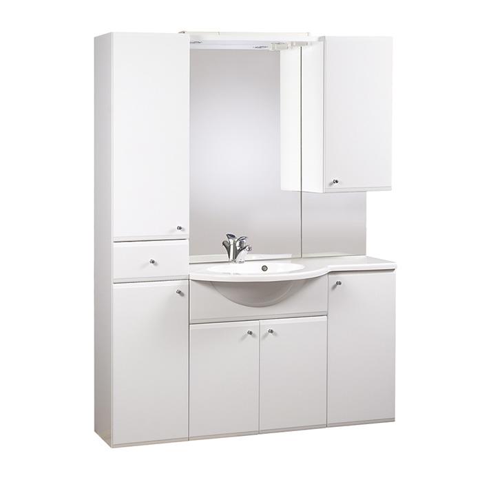 KONA 140 P Well Koupelnová sestava s umyvadlem, závěsná, skladem