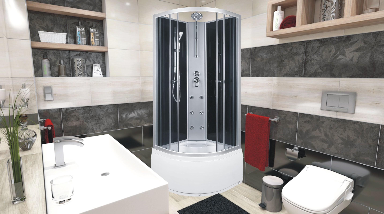 NODY 80 Well sprchový masážní box, skladem