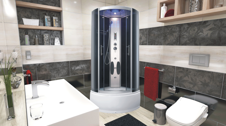 RACHEL 80 Well sprchový masážní box, skladem