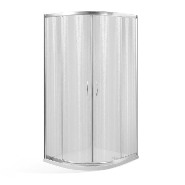 ARIEL NIKE 80 Well Čtvrtkruhový sprchový kout s mramorovou vaničkou, skladem