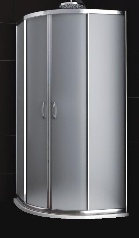 KATY 80 satinato MRAMOR Well sprchový kout s mramorovou vaničkou, skladem