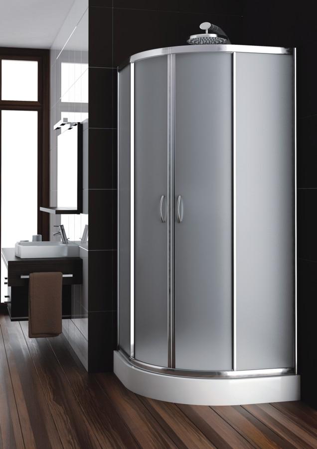 KATY 90 satinato Well sprchový kout, skladem