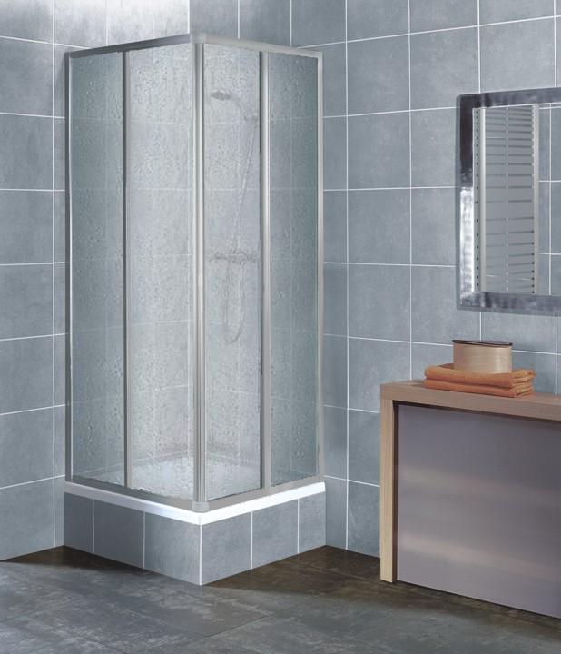 RIO CHROM 80-90 Well sprchový kout čtvercový, skladem