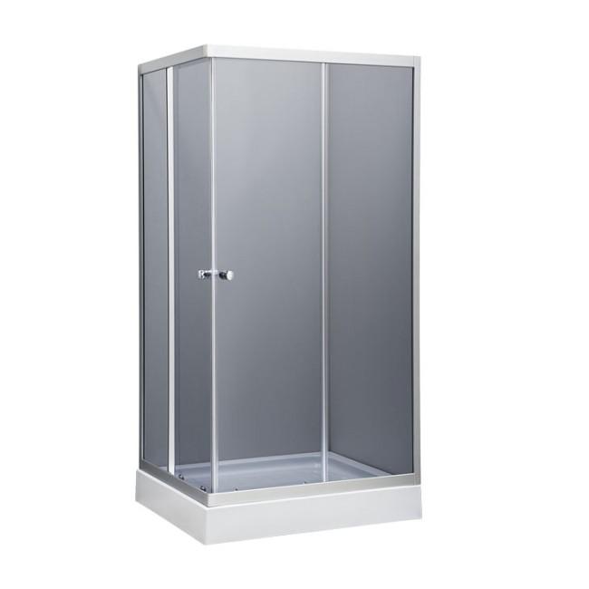 SALERNO 100x80 Well Sprchový kout s nízkou vaničkou, skladem