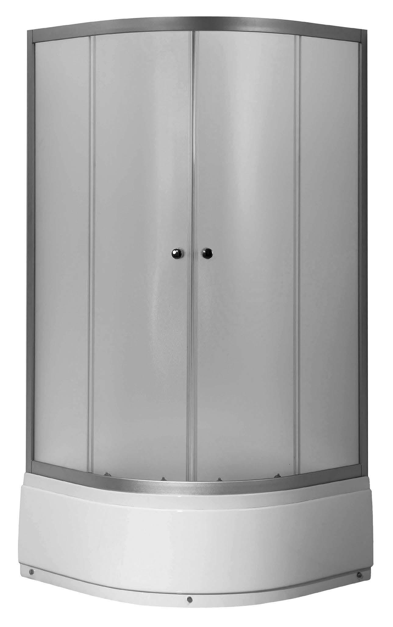 VIESTE HIGH 80 Woven Well sprchový kout s vysokou vaničkou, skladem