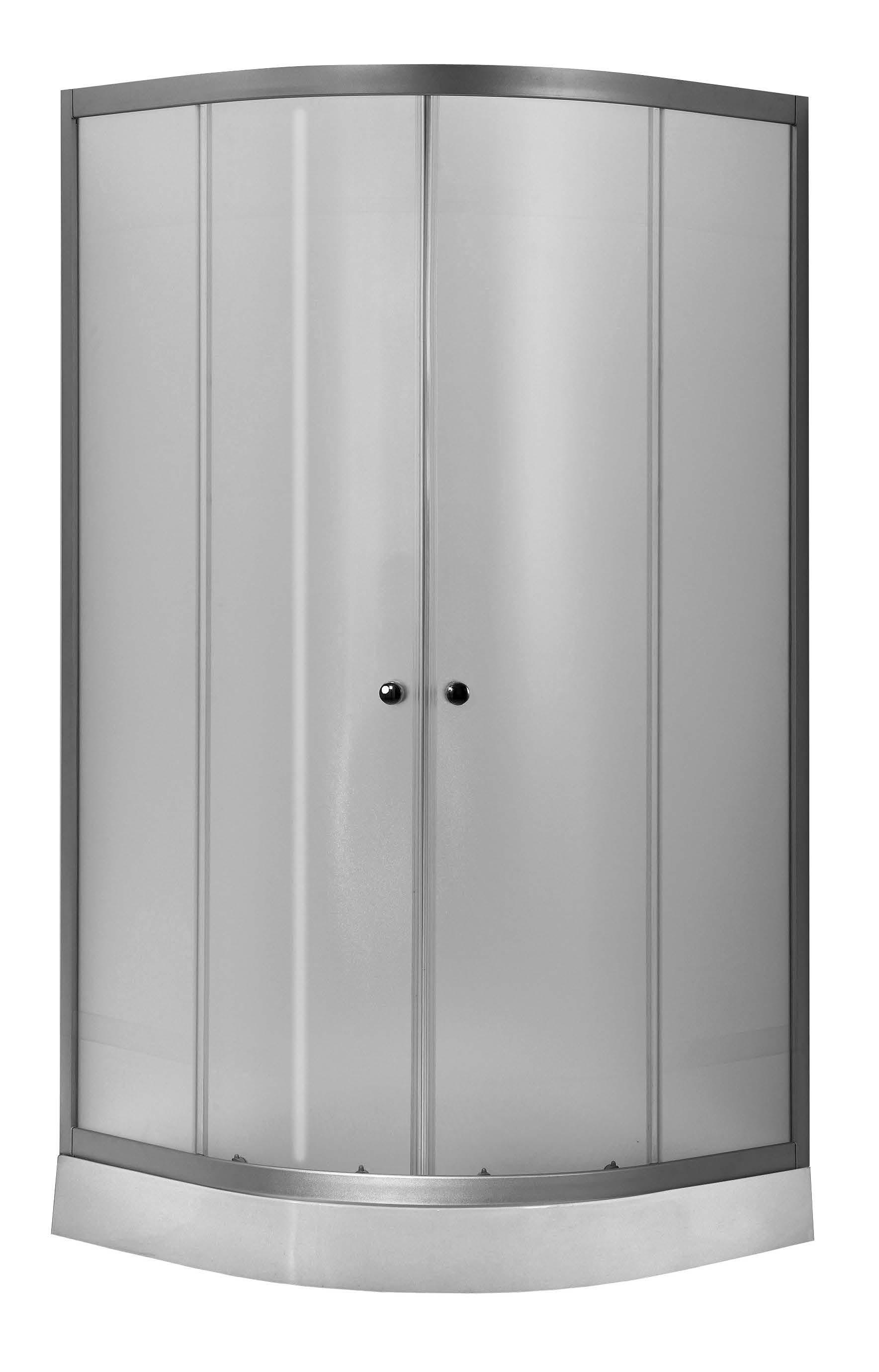VIESTE 80 Woven Well sprchový kout s nízkou vaničkou, skladem