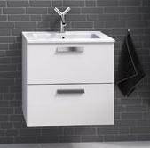 MAMBO 60 Koupelnová skříňka s umyvadlem, bílá, skladem