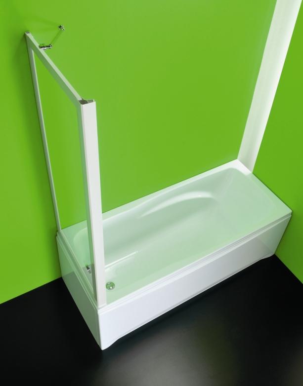 SOPRAVASCA FISSO CC 67 - 70 × 150 cm sklo Hopa vanová zástěna pevná