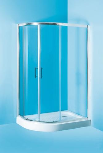 IBIZA ll 100x80 Pravý Olsen-Spa sprchový kout, skladem