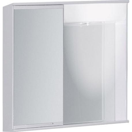 "LUMIX I 55 x 55 levá Olsen-Spa zrcadlová skříňka ""galerka"" kovová, skladem"
